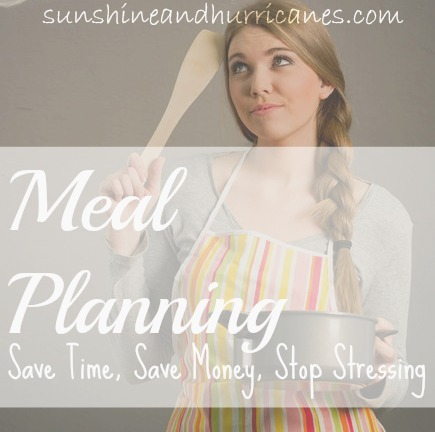 Meal Planning - Save Time, Save Money, Stop Stressing