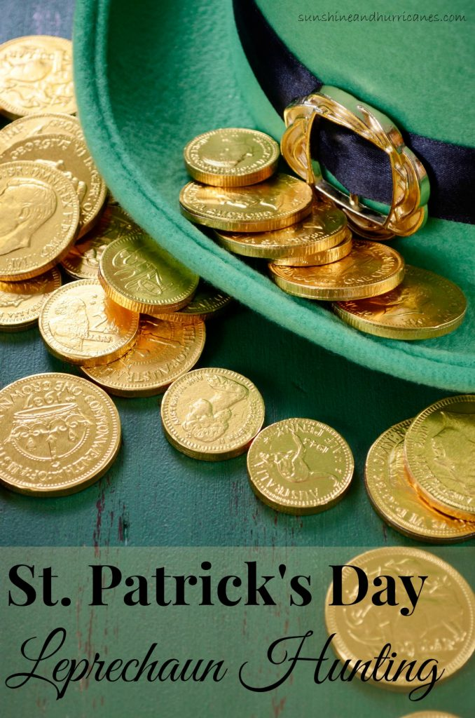 A fun and easy activity to keep kids busy and creative and to add a little extra magic to the holiday. St. Patrick's Day Leprechaun Traps.  www.sunshineandhurricanes.com.