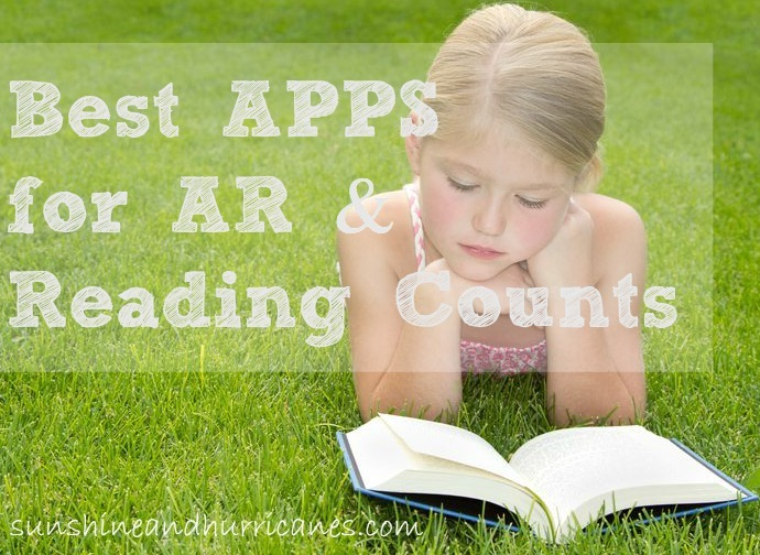 best apps for AR and reading counts