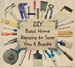 Do you have some repairs that need fixed but don't think you can do it yourself?  Save a Bundle By Handling Basic Home Repairs Yourself.
