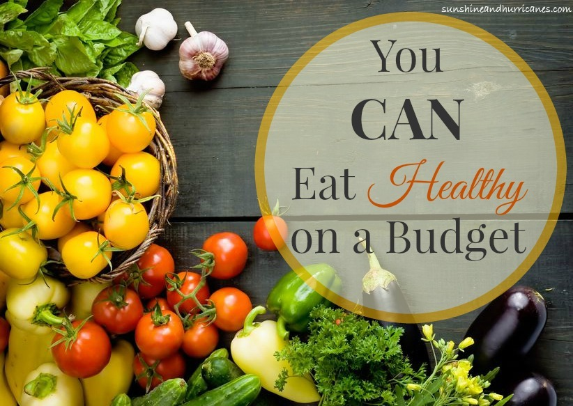 Do you think that your budget won't allow you to buy foods that are better for you? Think again. You CAN eat healthy on a budget.