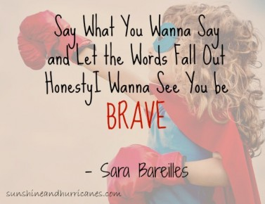 Five Ways to Be Brave Today...Take the challege!