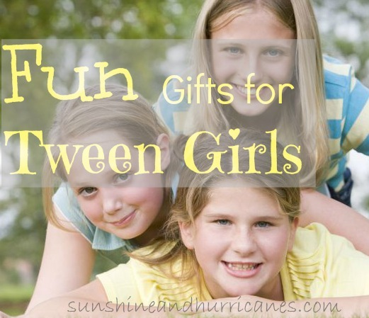 It can be so hard to know what to buy for girls in that stage between child and teenager. Here are some ideas for fun gifts for tween girls.
