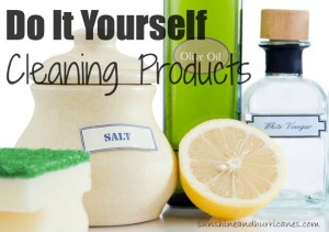 DIY Green Cleaning Products - sunshineandhurricanes.com