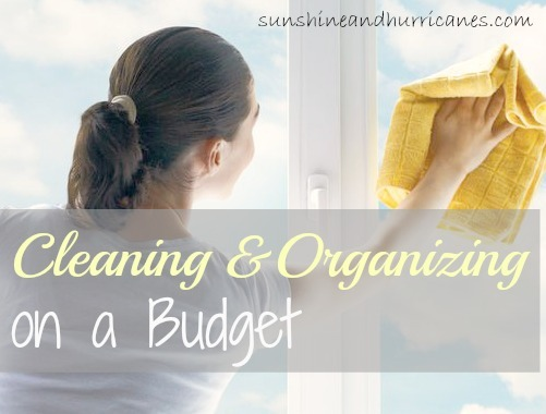 There is something about spring that creates within us the insatiable need to purge, scrub and organize.  Get some great tips for cleaning and organizing on a budget.