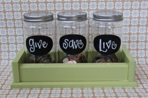 Give Save Live Money Jars from courtneydefeo.com