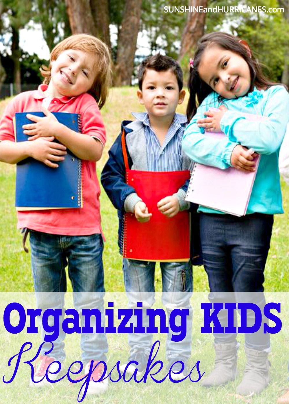 Drowning in all your child's artwork, school paper and mementos but can't stand the idea of throwing any of it away? Today's technology has a solution for you. We'll show you how to preserve all those memories while also preserving your sanity and the order in your home. Organizing Kids Keepsakes. SunshineandHurricanes.com