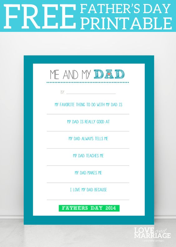 photograph relating to Today is a Good Day for a Good Day Printable referred to as Fathers Working day Printable Spherical Up