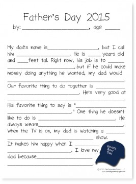 Father's Day Printable Round-Up. SunshineandHurricanes.com