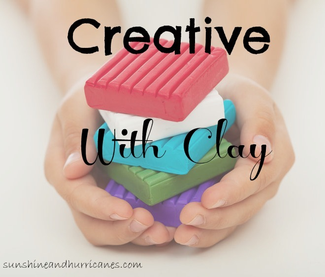 Creative ways to use store bought clay that allows kids to use their imagination in a low mess, frugal way! We created people and monsters, and a home.