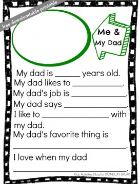 free-downloadable-fathers-day-printable-from-Kids-Activities-Blog. Father's Day Round-Up. SunshineandHurricanes.com