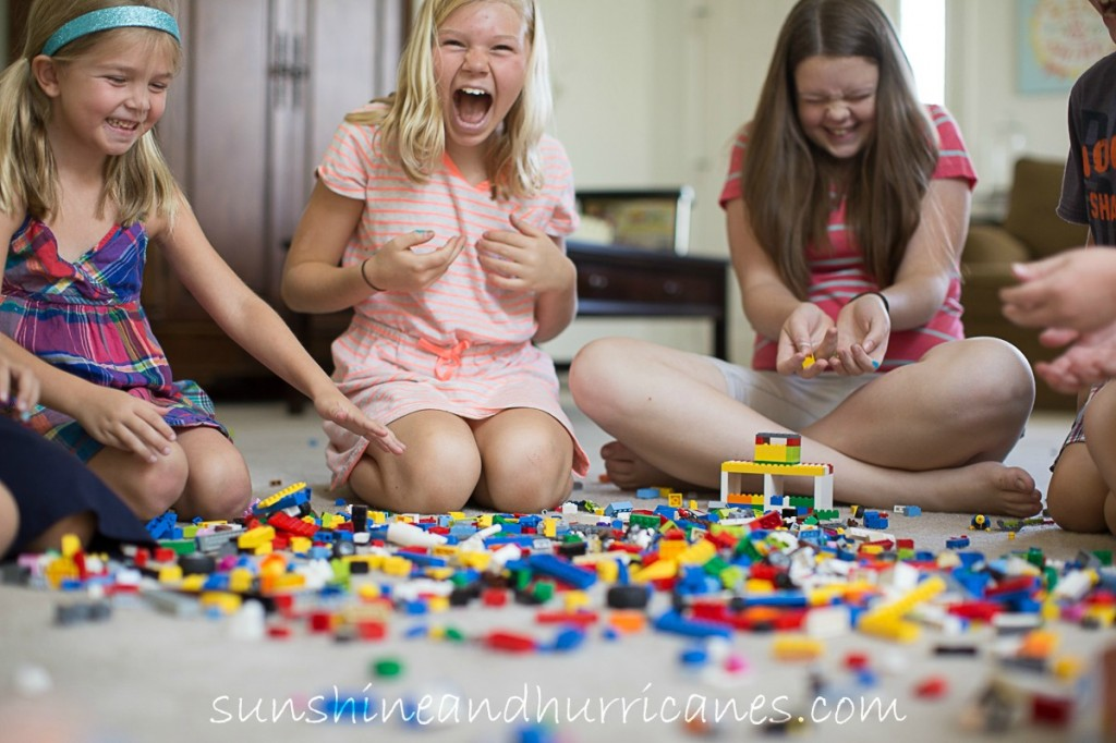 Let's Get Crazy With Legos at sunshineandhurricanes.com