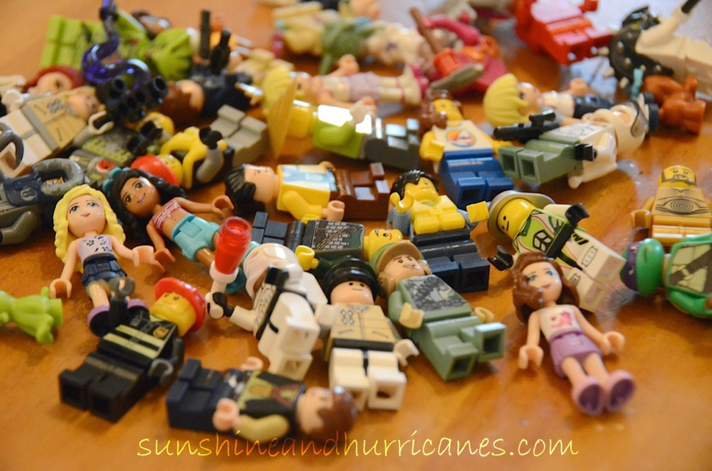 Let's Get Crazy with Lego - Minifigures at sunshineandhurricanes.com