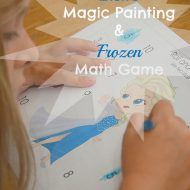 Elsa's Magic Painting and Frozen Math Game