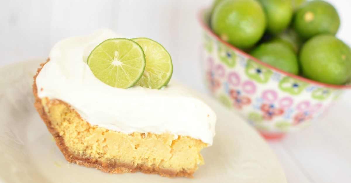 Looking for a dessert recipe that will knock people's socks off? This Key Lime Pie is the best you'll ever make and you won't believe how easy it is to make. We're Florida girls we should know! Key Lime Pie Recipe. SunshineandHurricanes.com