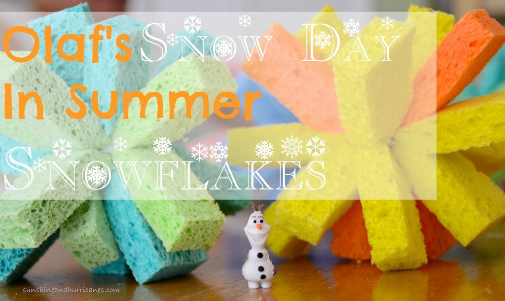 Frozen Games - Olaf's Snow Day In Summer at sunshineandhurricanes.com
