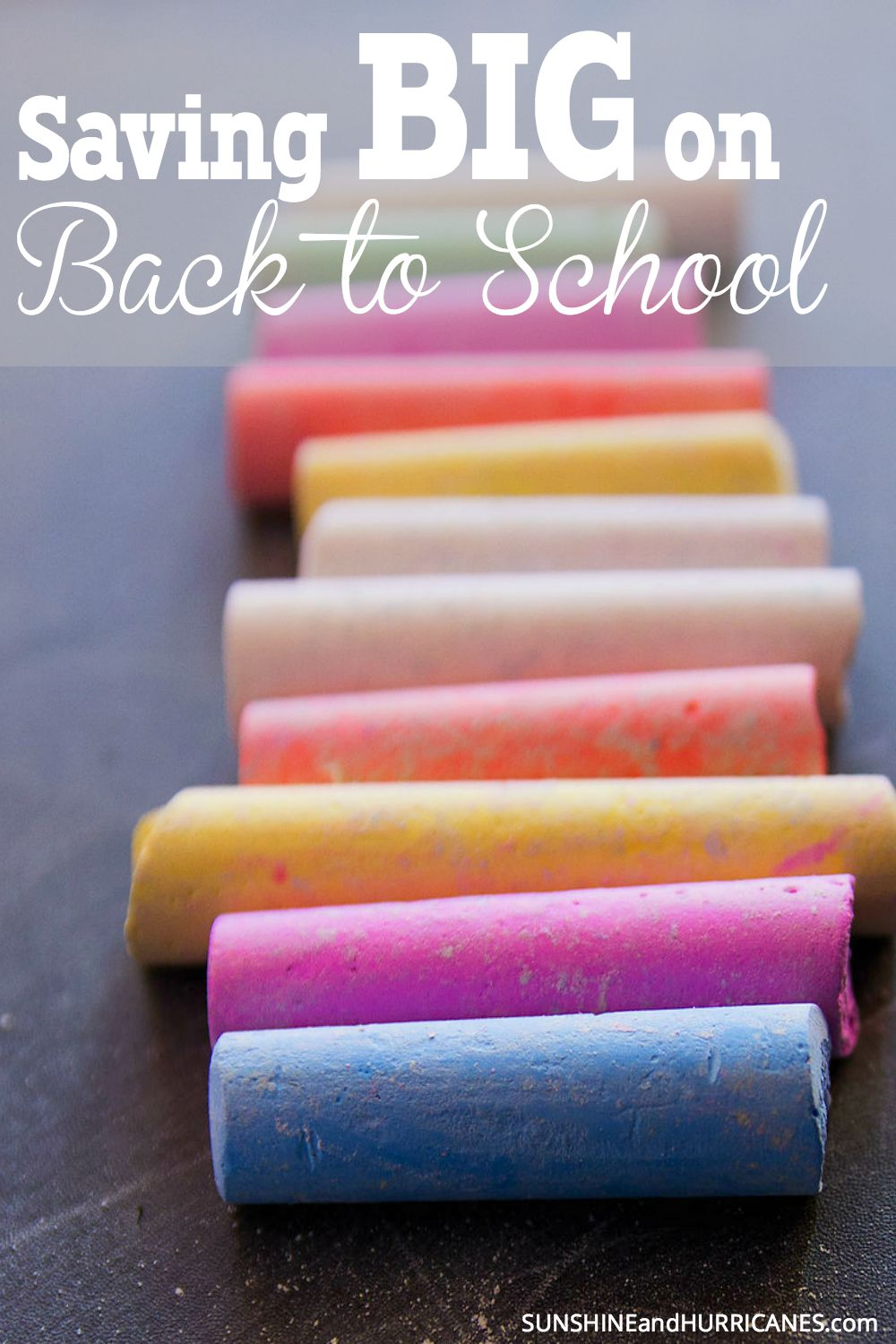 Binders, Backpacks, and Books Oh My! Looking for ways to save on all those BIG back to school shopping expenses? We've got all the inside scoop on ways to keep back to school from breaking the bank. Saving BIG on Back to School. SunshineandHurricanes.com