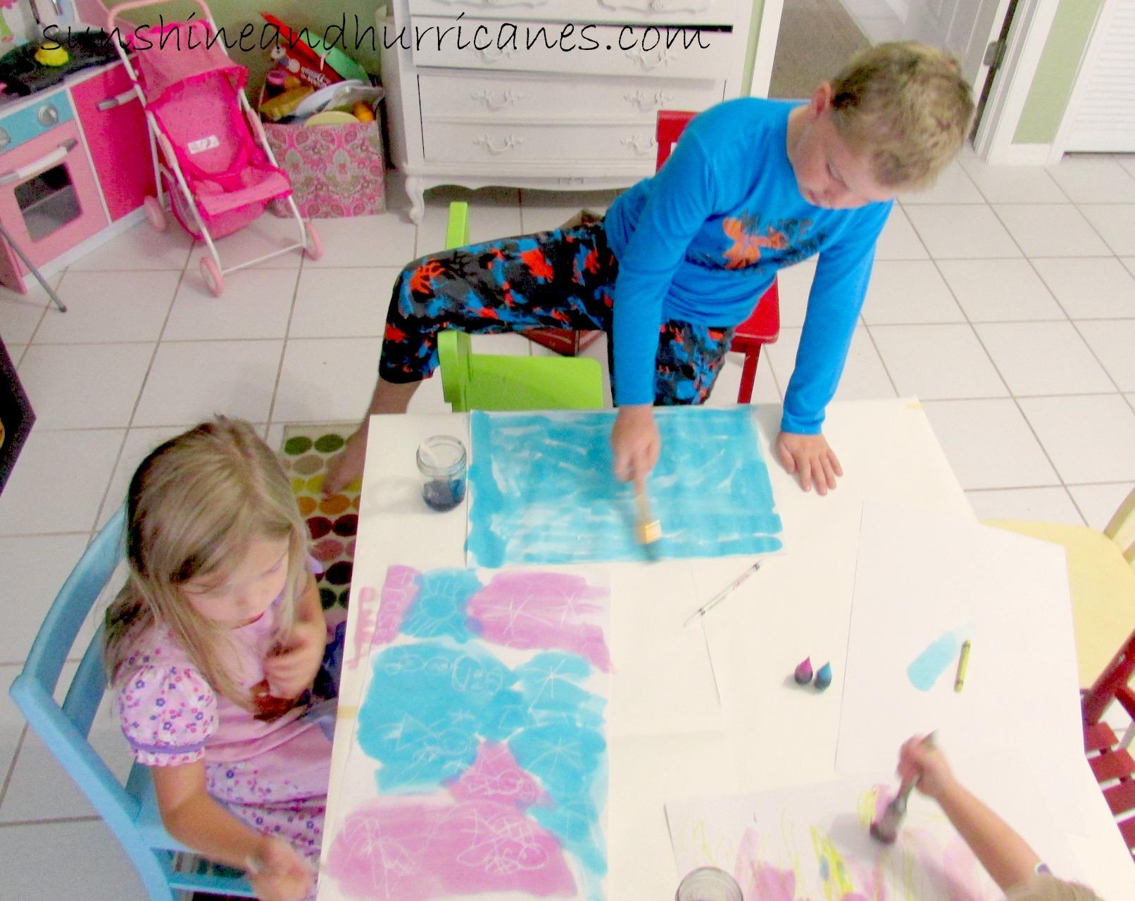 Elsa's MAgic Paint