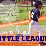 Lessons From Little League