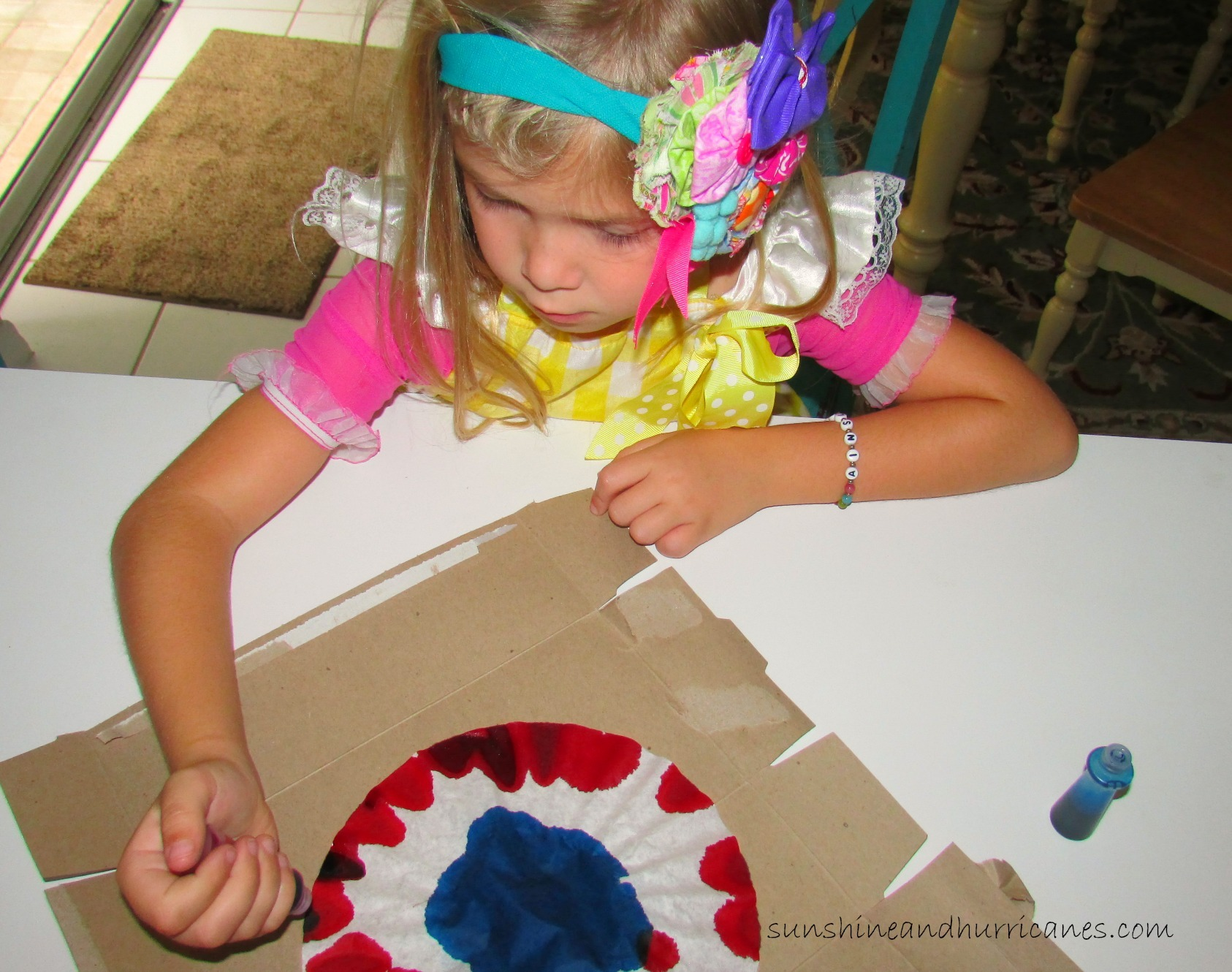 patriotic bunting DIY Kids