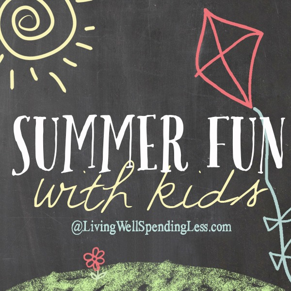 Summer Fun With Kids @ Living Well Spending Less and Sunshine and Hurricanes