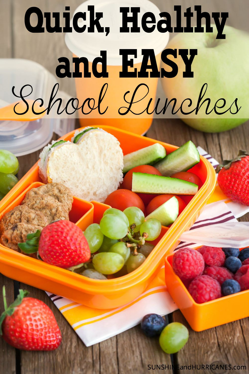 healthy quick and easy school lunches. Black Bedroom Furniture Sets. Home Design Ideas