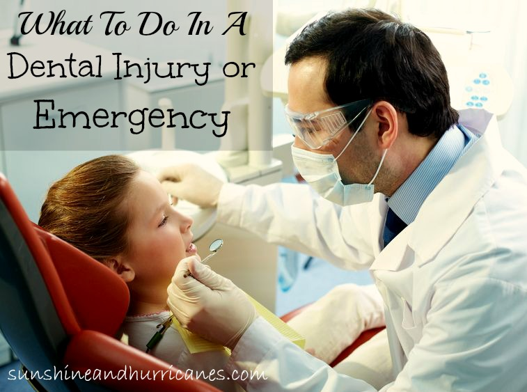 How to handle Kid's dental injuries and emergencies, one family's real life experiences with a broken permanent front tooth.