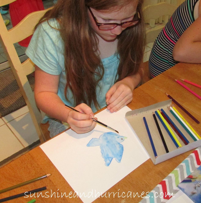 DIY Watercolor Pencil Project