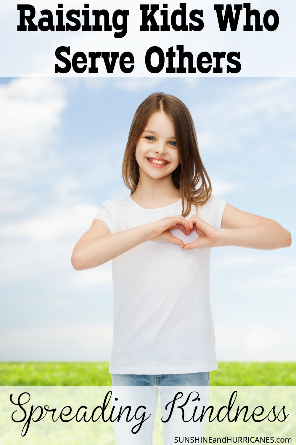Do you want to raise children who have a heart for helping others? There are many easy and even fun ways we can engage our children in making the world around them a better place. Here we talk about Raising Kids Who Serve Others by Spreading Kindness. SunshineandHurricanes.com