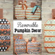 Reversible Pumpkin Decor