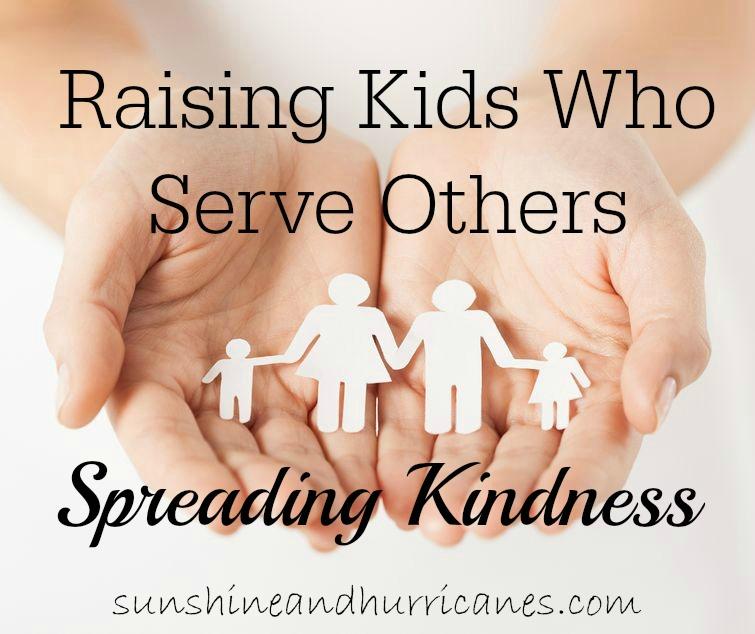Spreading Kindness- Raising Kids Who Serve