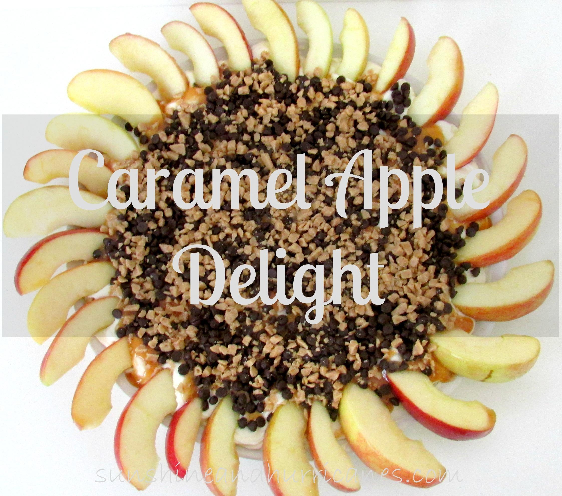 Caramel Apple Delight delicious Fall dessert