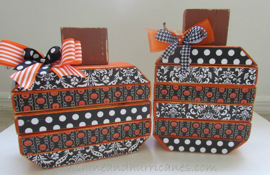 DIY Reversible Pumpkin Decor