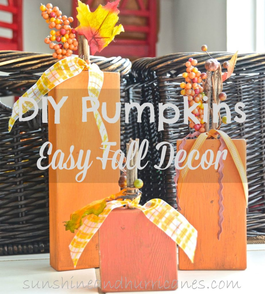 These DIY 2x4 pumpkins are a great project for adults or kids. Great for scout troops, YW, or a girls night out. Simple Fall craft