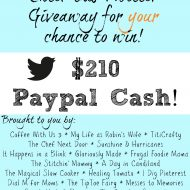 Twitter Giveaway – Win $210 in PayPal Cash!