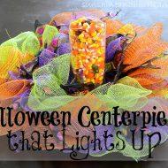Halloween Light Up Centerpiece