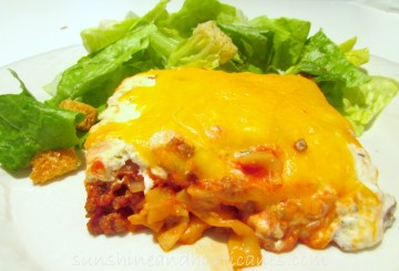 Cheesey Noodle Casserole