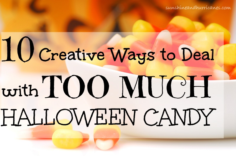 What to Do With Leftover Halloween Candy - 10 Creative Ideas