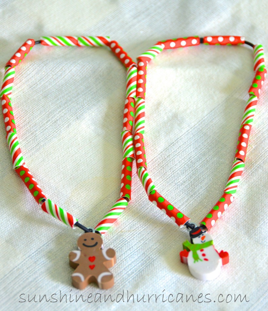 Kid's Christmas Necklace