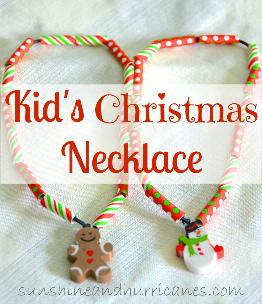 Kid\'s Christmas Necklaces