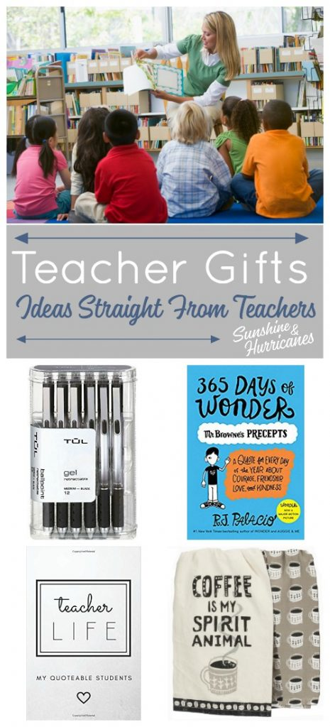 Teacher Gifts - Ideas for Teacher Appreciation Gifts, End of Year Teacher Gifts and Holiday Gifts