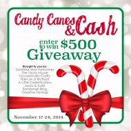 Candy Canes and Cash – $500 Giveaway
