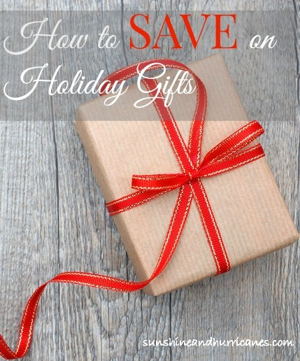 How to Save on Holiday Gifts