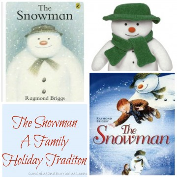 Start a new family tradition this holiday season with the The Snowman book and movie.