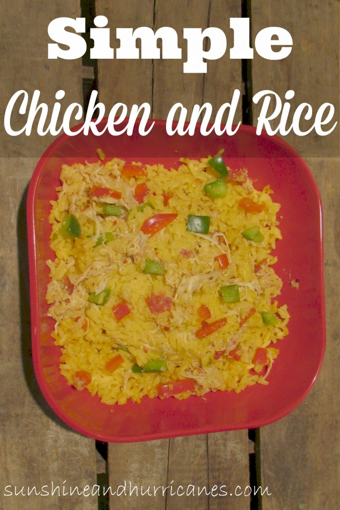 Simple Chicken and Rice
