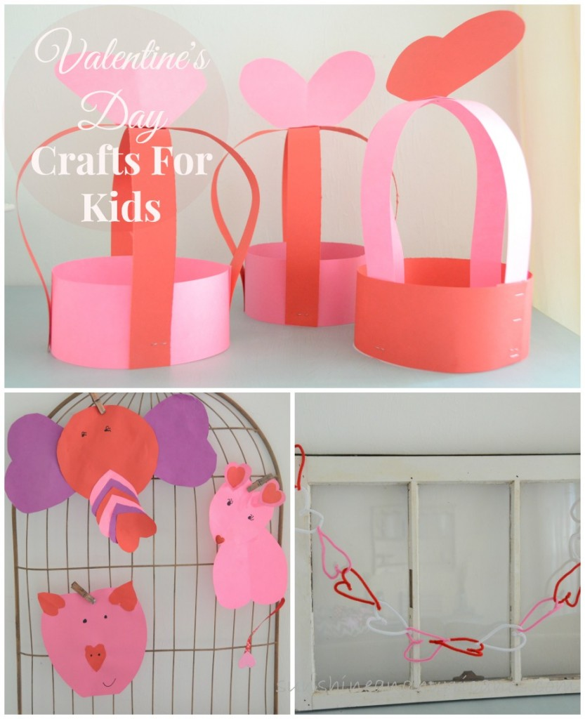 3 simple valentine 39 s day crafts for kids for Valentine crafts for kindergarteners