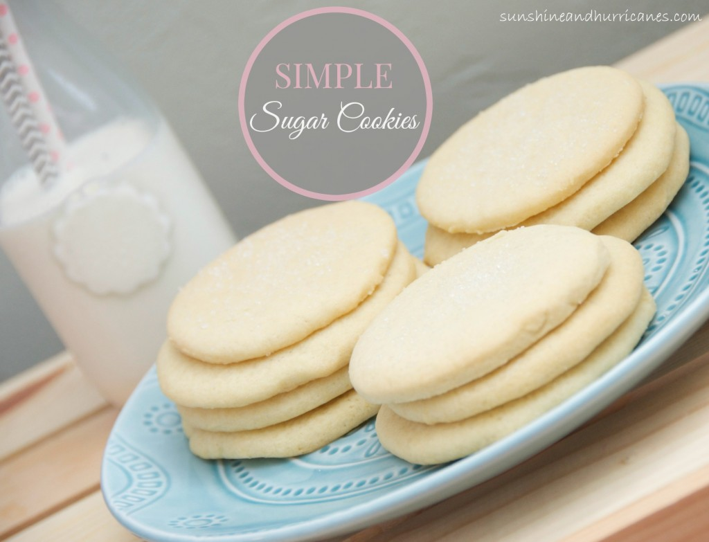 Looking for an Easy Cookie Recipe? These Simple Sugar Cookies Taste Delicious and also Make a Great Recipe for Cut-Out Cookies.