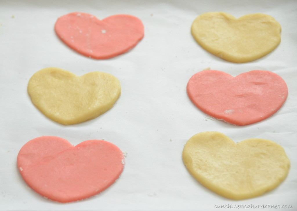 Valentine's Day Cookies - White Chocolate Dipped Hearts
