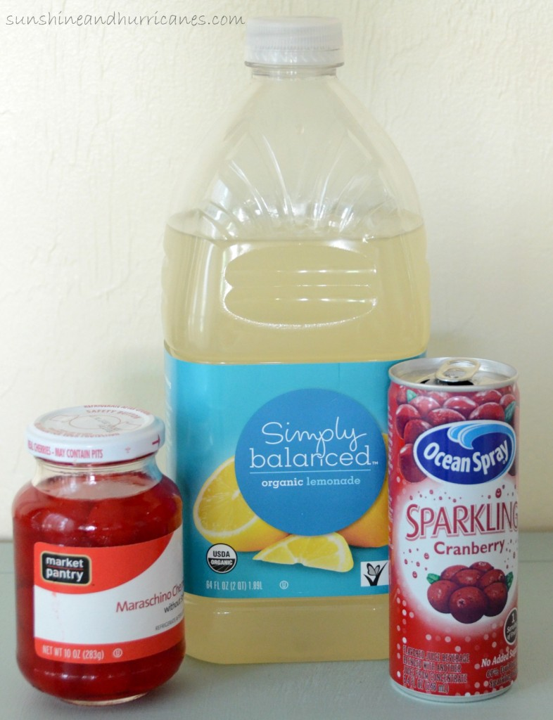 Valentine's Day Cupid's Brew Ingredients. sunshineandhurricanes.com