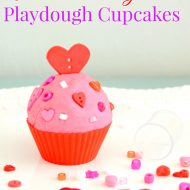 Valentine's Day Playdough Cupcakes